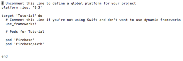 Email Login With Firebase 3 And Swift: Part 2 – averybub