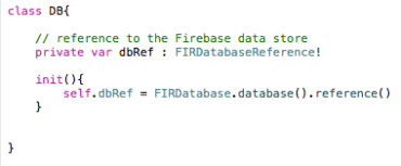 Connecting to the Firebase Database – averybub