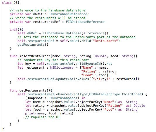 Retrieving Data From The Firebase Database – averybub